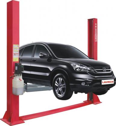 Two post vehicle lift