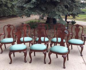 8 Ethan Allen Dining Chairs