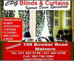 BLINDS, CURTAINS ,HEADBOARDS, WALLPAPER & LAMINATE FLOORING
