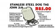 John 3:16 Dog Tags