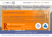 Our Corporate Package for R3500 High End Quality - Premium Crafted Designs