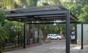Winter Special - 3x6 Single Carports Flat Roof Corrugated / IBR
