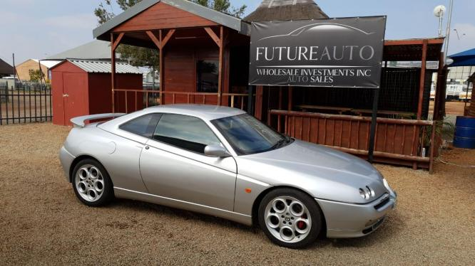 2001 SILVER ALFA ROMEO GTV V6 24 VALVE FOR SALE!!