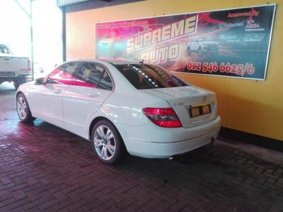 2010 Mercedes C180 CGi automatic with full service history.