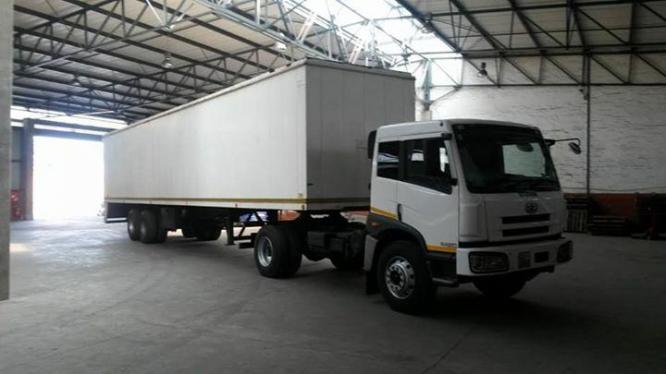 2013 FAW 16.240 Truck & Trailer in Kempton Park, Gauteng