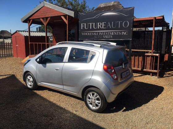 2016 SILVER CHEVROLET SPARK LS FOR SALE!!