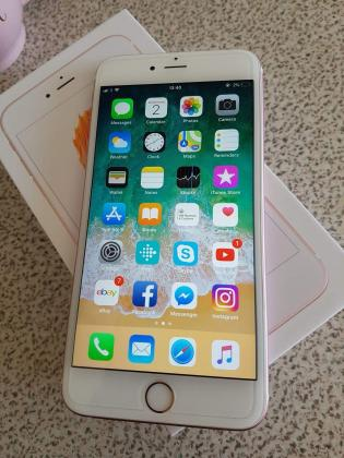 Clean Apple iPhone 6s Plus Rose Gold