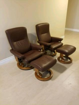 Ekornes Stressless Chairs For Sale