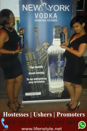 Event Hostesses, Ushers, Bartenders and Promotion Staff in Johannesburg, Gauteng