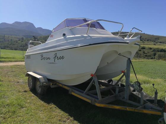 Galve Breakneck Trailor Boat