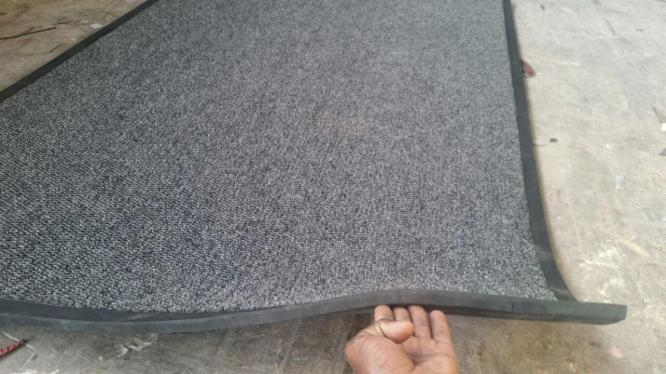 Indoor and Outdoor Use Berber Point Logo Mats is a customized floor matting solution