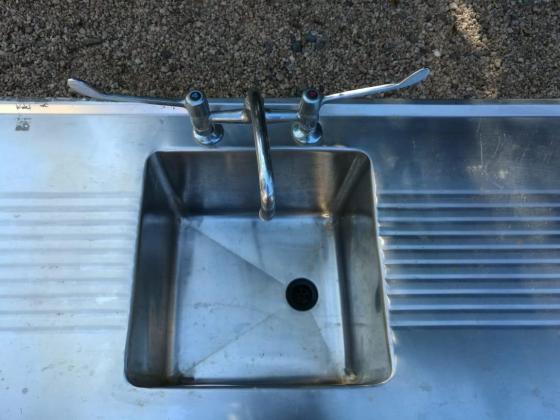 Indoor/Outdoor sink
