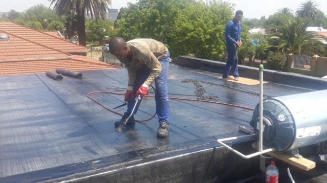 Torch-on Waterproofing
