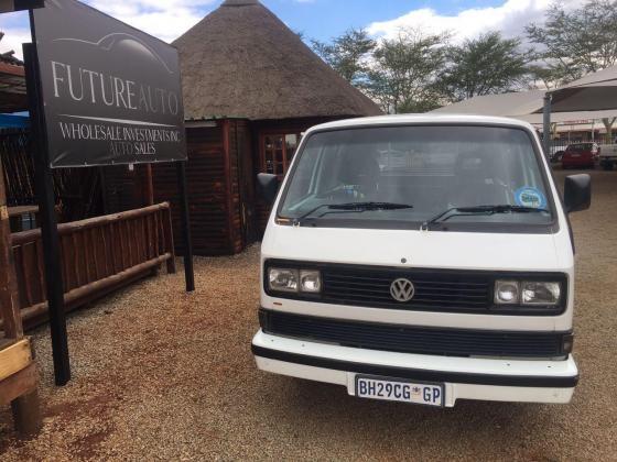 White 1992 VW Caravelle 2.8 8 valve for sale!!
