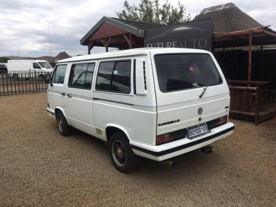White 1992 VW Caravelle 2.8 8 valve for sale!!