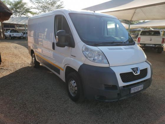 WHITE 2010 PEUGEOT BOXER 2.2 PANEL VAN FOR SALE!!
