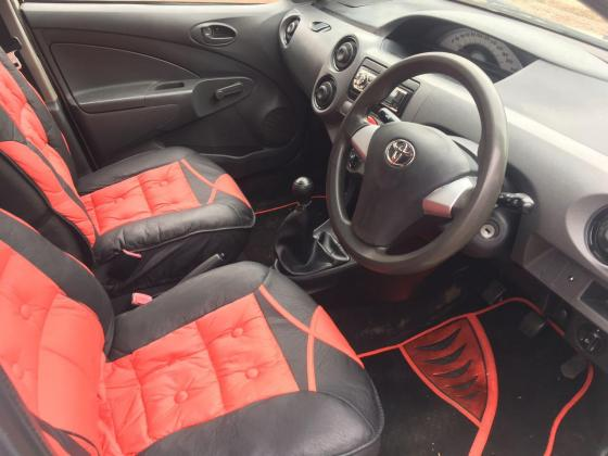 White 2013 Toyota Etios 1.5i For Sale!!