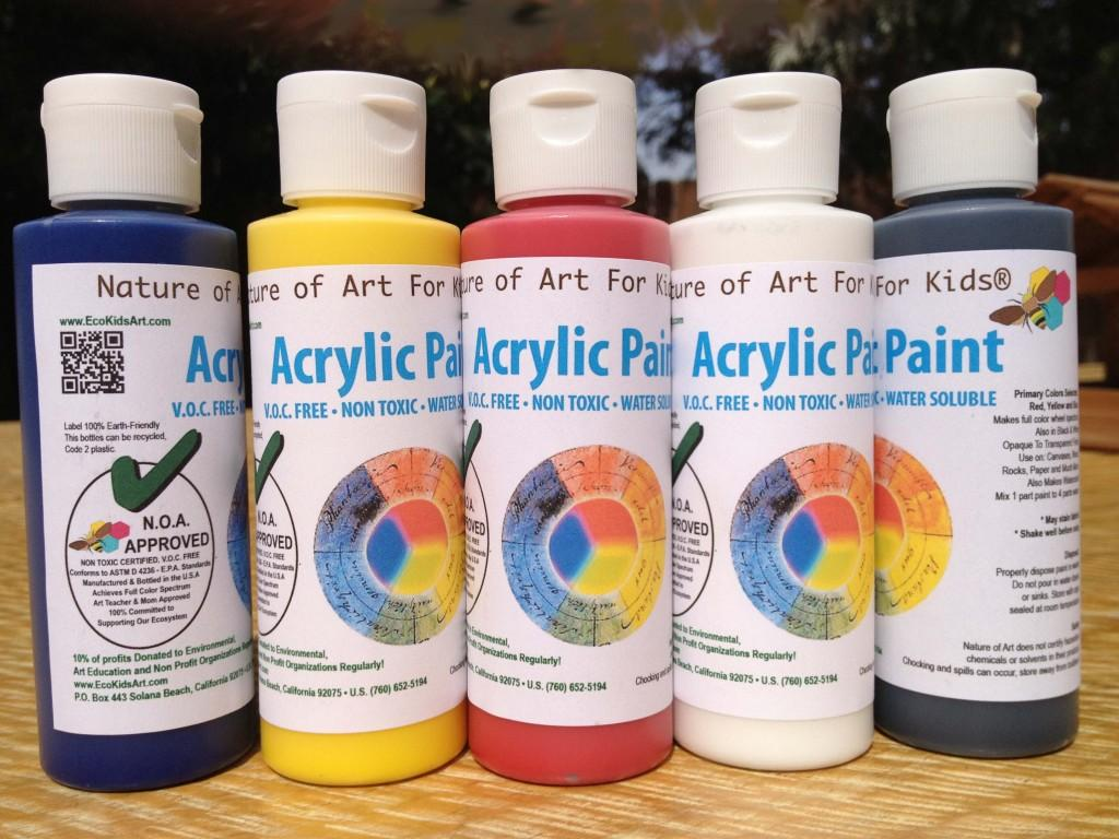 Is Acrylic Paint Toxic >> Non Toxic Art Watercolor Paint Acrylic Paint Set Other Eastern