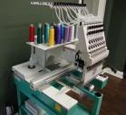 2016 model single head 15 needle Tajima embroidery machine