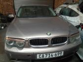 BMW E65 745i preface for stripping