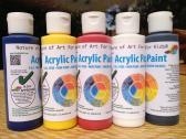 Non-Toxic Art Watercolor Paint, Acrylic Paint Set