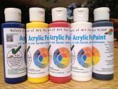 Non-Toxic Art Watercolor Paint, Acrylic Paint Set
