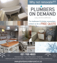 Plumbers on Demand Plumbing - For all your plumbing needs.
