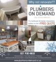 Plumbers on Demand Plumbing - For all your plumbing needs.