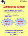 Accounting Tuition Available