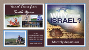 ISRAEL TOURS|Register now for monthly departure up to 2020| R25900pp - you will need only pocket mon