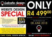 Wordpress Website Design  25% off SPECIAL - ends soon (book now)