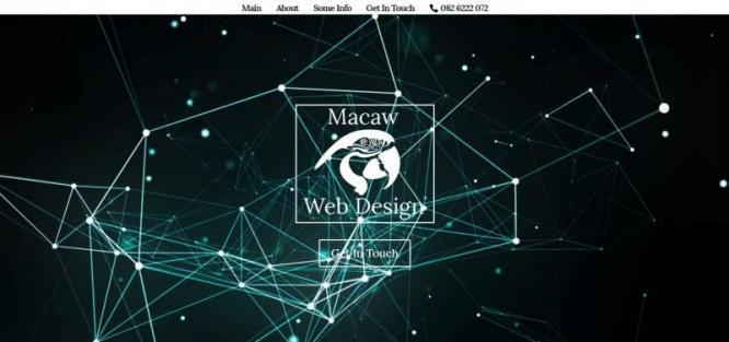 Macaw Website Design