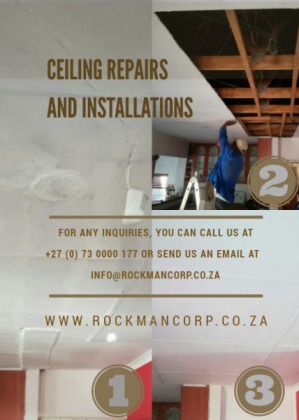 CEILING REPAIRS & INSTALLATIONS! PAINTING SERVICES!