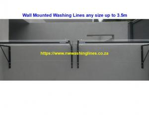 T-Piece, Wall Mounted, Rotating, Balcony, Fold Away, Collapsible, T-Bar washing lines