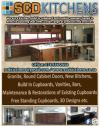 Cupboards and Granite