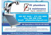 GIFT PLUMBERS AND MAINTENANCE