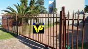 Palisade fences and gates