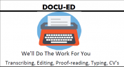 Transcribing/Research Assistant/Proofreading/Typing