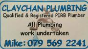 Plumbing maintenance and contract work.