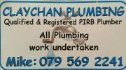 Plumbing maintenance and contract work.