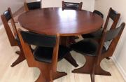 Wooden Six Seater diningroom set for sale
