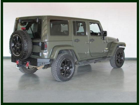 2015 Jeep Wrangler 2.8 CRD UNLTD Sahara Automatic