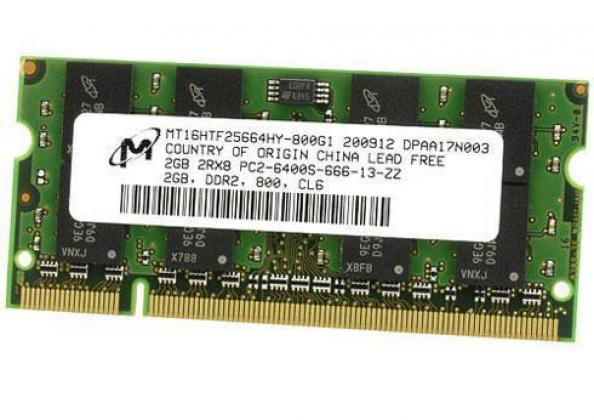 2x 2Gb DDR2-800/667MHz RAM Memory for Older Laptops