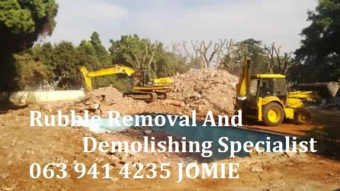 DEMOLITION, SITE CLEARANCE