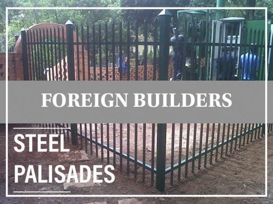 FOREIGN BUILDERS Building materials