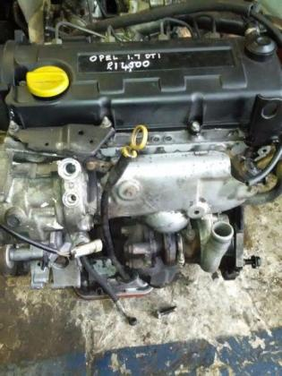 Opel Corsa 1.7 diesel turbo engine