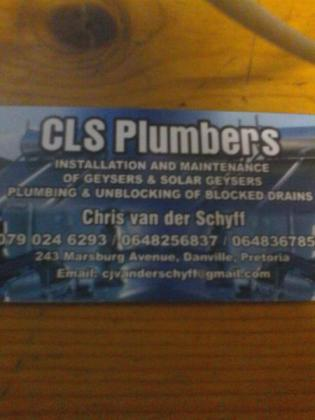 Qualified Plumber and affordable. Blocked drains. Water leaks. Geyser repairs, solar Geysers.