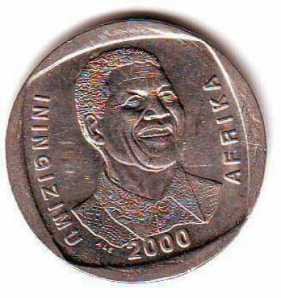 R5 YEAR 2000 MANDELA COIN AT R100 EACH