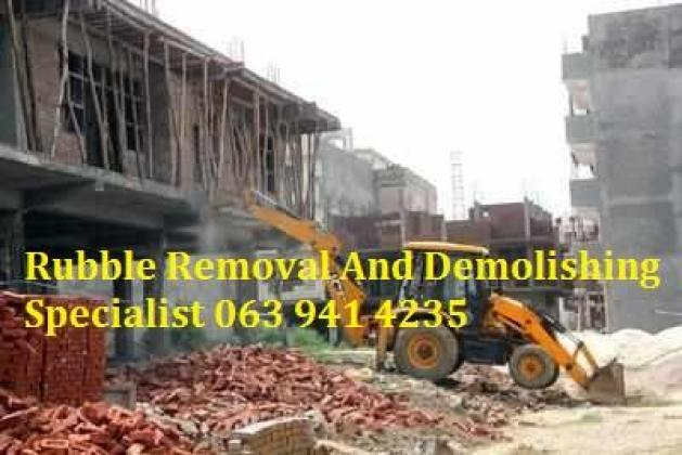Rubble Removal And Demolishing Specialist