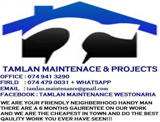 Tamlan Maintenance & Projects